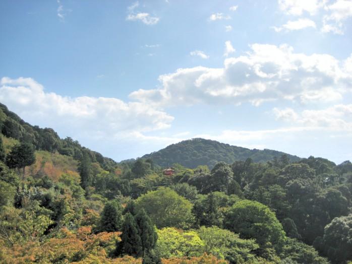 01 View form Kiyomizu Temple