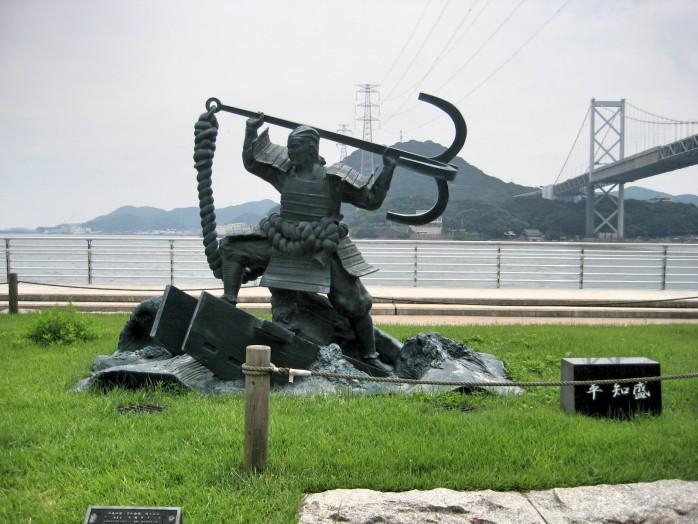 04 Dannoura_Statue of Tomomori