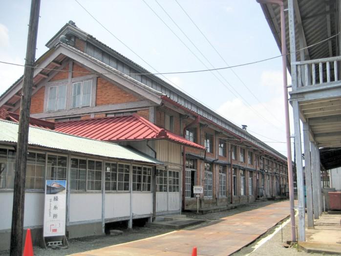 01 Tomioka Silk MIll_Silk reeling reeling mill building
