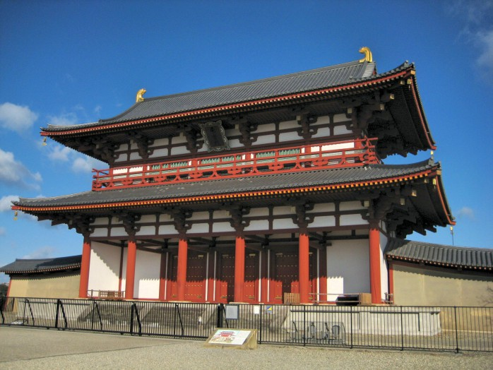 02 Heijo Palace_Suzaku Gate