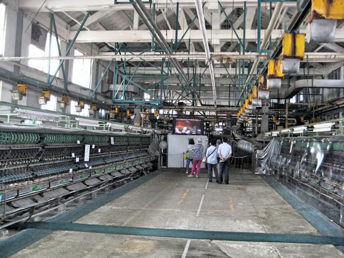 03 Tomioka Silk MIll_Silk reeling reeling mill area