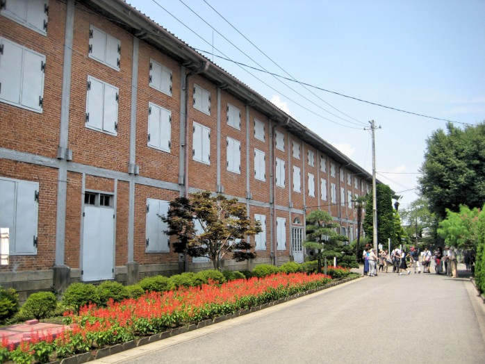 Tomioka Silk Mill_East cocoon warehouse