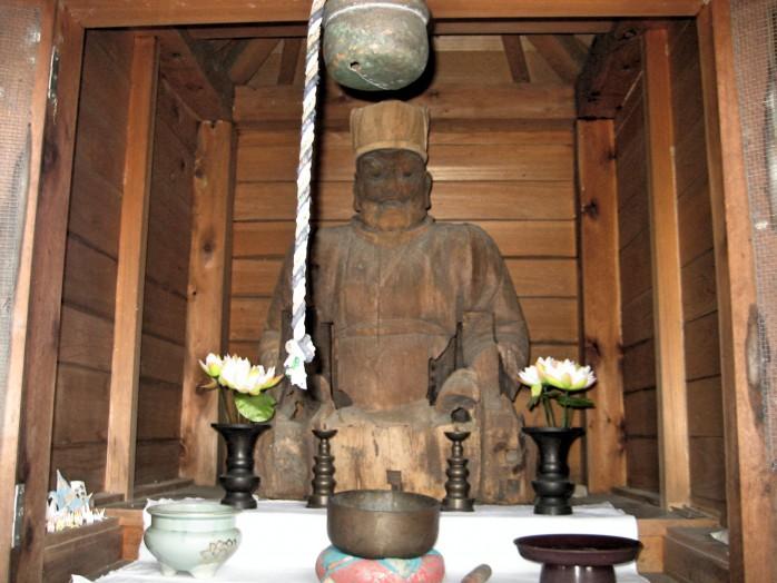 08 Reiseki-dan (Statue of Buddha)