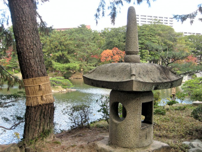 11 Garden lantern of Yang Guifei style