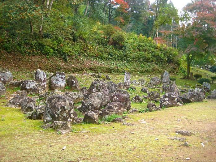 06 Ichijodani Asakura Family Historic Ruins_Yudono garden ruins