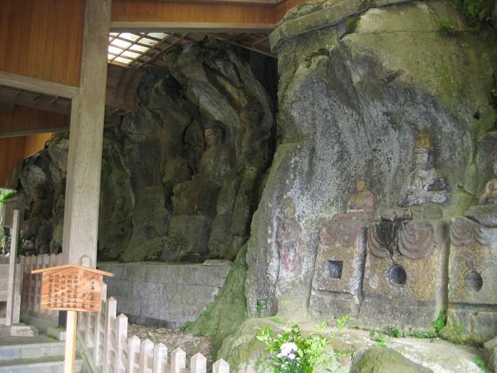 02 Usuki Stone Buddhas