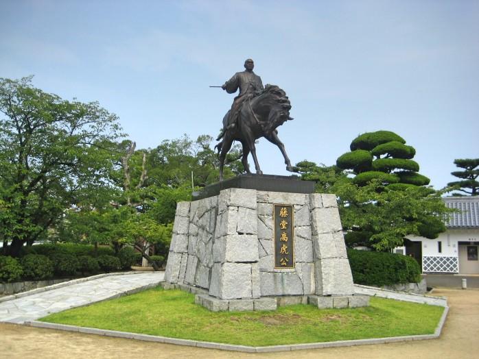03 Statue of Takatora Todo