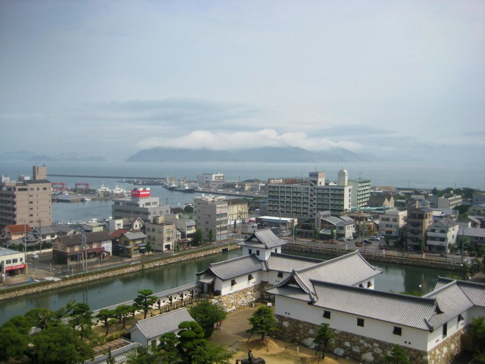 05 View from Imabari Castle