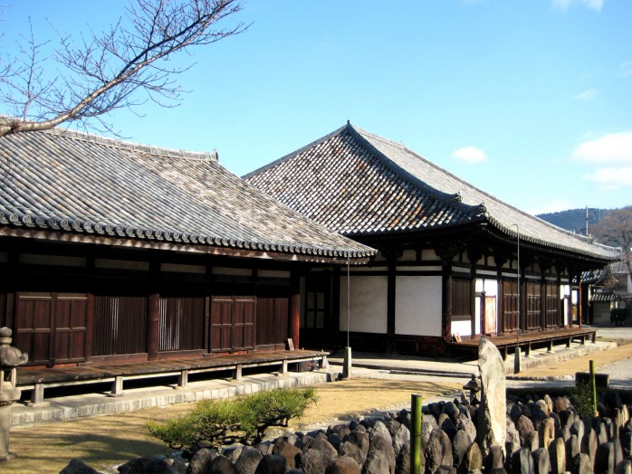 02 Main hall(right side) and Zen room(left side)