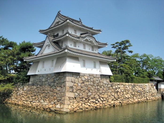 Takamatsu Castle_Ushitora turret