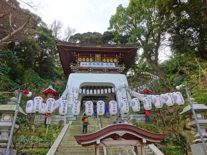 02 Enoshima Shrine_Zuishin-mon gate