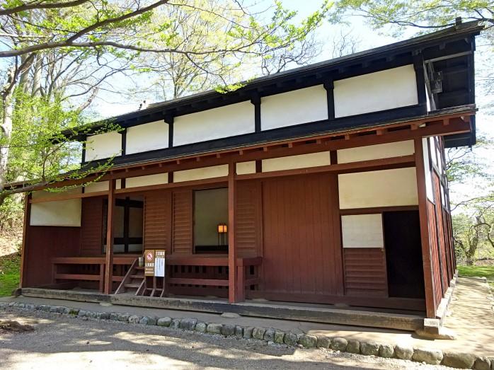 05 Senshu Park_The ruins of Kubota Castle_Omono-gashira Guard house