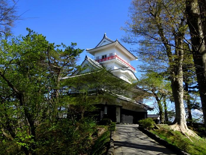 Senshu Park_The ruins of Kubota Castle_Osumi Turret